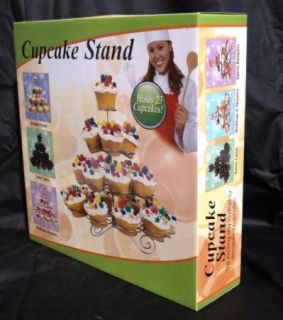"Cupcake Tree Cupcake Stand Dessert Birthday Baby Bridal Shower Party ""New"""