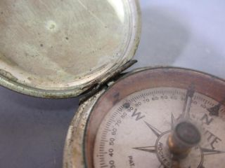 US Engineers 1918 Usanite Taylor Pocket Compass PAT1915