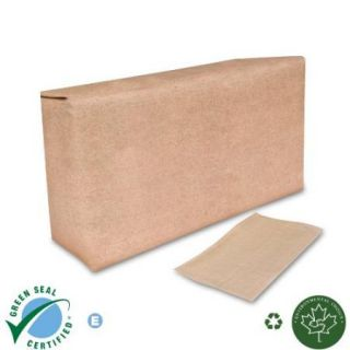 Tall Fold Dispenser Napkin Natural Kraft 10 000 CS Wholesale