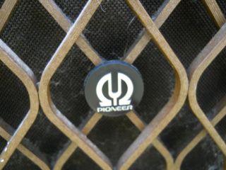 Vintage 1974 Pioneer CS 801 Floor Standing Speakers