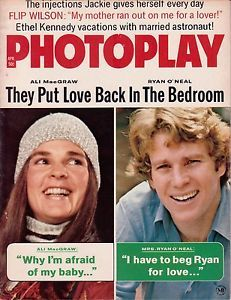 Ali MacGraw Ryan O'Neal Leigh Taylor Young James Arness Flip Wilson Maria Callas