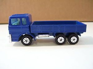Yatming Ford Blue Cab Over Flatbed Truck Diecast