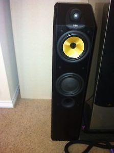 Bowers Wilkins CDM 7NT Audiophile Floor Standing Speakers Mint Ash Pair