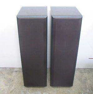 Pair of Bower Wilkins DM 620 Floor Standing Speakers
