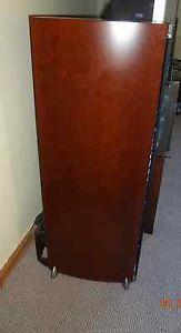 Polk RTI A7 Main Home Theater Floor Standing Speaker Cherry Pair