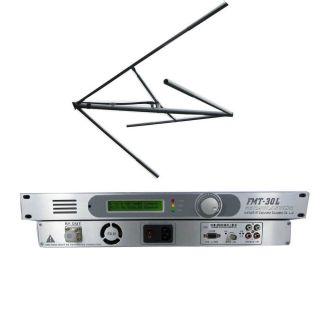 FSN 30L 30W PLL Professional FM Transmitter Circularly Polarized Antenna Kit