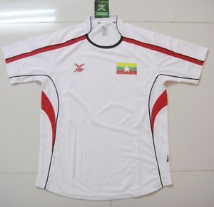 U 21 Myanmar National Football Team Jersey Soccer Away Bidc's Cup 2011