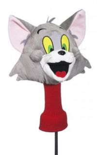 New Tom and Jerry Licensed 460cc Driver Golf Head Cover