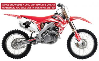 Graphics for Honda CRF 450 2005 2008 CRF450 450R CRF450R