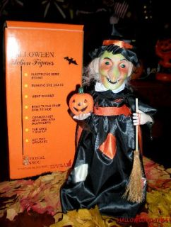Classic Halloween Animated Witch Motion Etts Telco