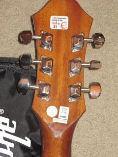 Epiphone Dr 90 NA Acoustic Guitar with Case Mint