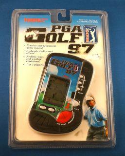 PGA Golf Tour 1997 Football Tiger Electronic Handheld Video LCD Toy Game Club