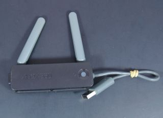 Official Microsoft Xbox 360 Wireless Network Internet WiFi Adapter Black