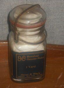 Antique Blue Medicine Bottles
