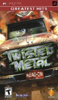 Twisted Metal Head on Outlaw Racing Mayhem PSP New