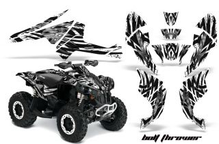 Can Am Renegade Graphics Kit Decals Stickers BTWBB