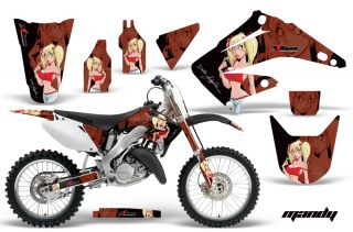 AMR Racing Dirt Bike Motocross Decal Sticker Kit Honda CR 125 250 R 02 12 MRK