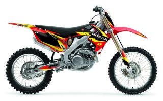 2013 One Industries Delta Graphics Honda CRF 450 R 2005 2008 61013 010 252
