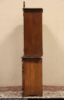 Child Size Eastlake Oak 1890 Hutch China Cabinet