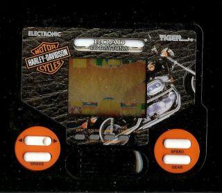 90s Harley Davidson Motor Cycle Daytona Tiger Electronic Handheld Arcade Game