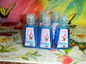 Lot 5 Bath Body Works PocketBac Party Animal Confetti Cake Hand Sanitizers