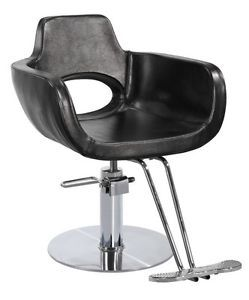 New Modern Hydraulic Barber Chair Styling Salon Beauty C8827 Black