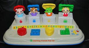 Leap Frog Baby Learning Friends Pop Up Toddler Kids Toy ABC Shapes Colors Songs