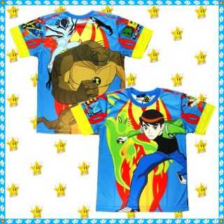Ben 10 Alien Force T Shirt Age 4 10 Years Toys Boys Top Kids Party Clothes New