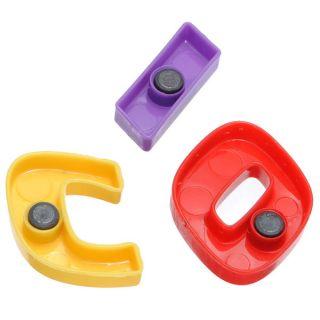 52P Magnetic Magnet Letter Alphabet Number Fridge Kids Child Educational Toy Set