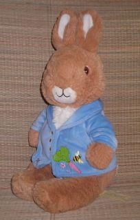 "Kids Preferred 14"" Plush Peter Rabbit Stuffed Toy Beatrix Potter Lovey Nursery"