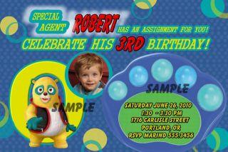 Special Agent Oso Birthday Invitations w Photo