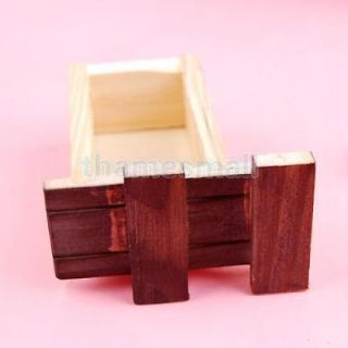 4X Vintage Wooden Secret Magic Puzzle Drawer Box Kids Children Fun Toy