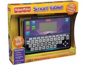 Fisher Price Smart Tablet Educational Toy Kids Computer New in Open Box