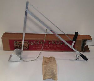 Antique Tricycle Trike Shovel 1940 50's Toy Craft Co of Seattle Kids Excavator