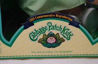 Cabbage Patch Kids Doll 1985 Commemorative Repro 15th Anniversary Special Editio