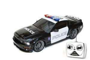 Radio Remote Control Car RC Police Ford Shellby Racing Vehicle Toys Kids Boys