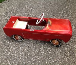 1966 vintage antique amf junior pedal car kid