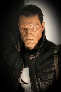 Custom 1 6 Punisher Figure Hot Toys Sideshow Batman Avengers