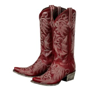 Lane Western Boots Womens Cowboy Wild Ginger Red LB0031D