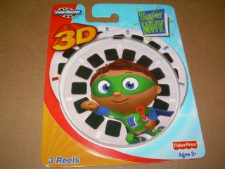 View Master 21 Image Reel Pack Super Why PBS Kids