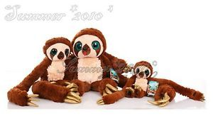 "The Croods Plush Stuffed Toy Belt The Sloth Monkey Kids Doll 10"" 16 22"" Gift New"