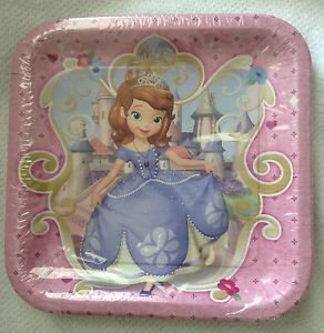 Disney Sophia The First Party Supplies Birthday Party Supplies Free s H