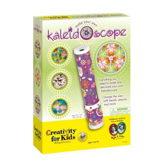 Make Your Own Kaleidoscope Unique Tube Kids Kit Home School