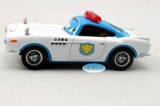 Disney Pixar Cars 2 Security Guard Finn McMissile Mattel Diecast Toy New Loose