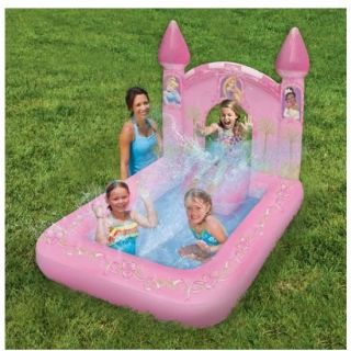 Swim Ways Disney Princess Magic Castle Play Pool Inflatable Swimming Water Swim