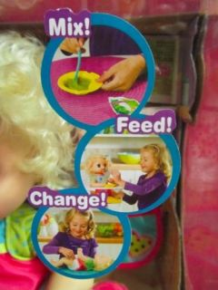 Baby Alive Interactive Doll new in Boxblond 30 Phrases English Accessories