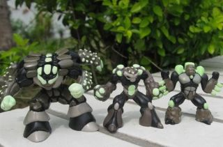Gormiti Giochi Games Cartoon Toy 3pc Luminous Series