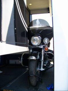 2008 Newmar All Star 4155 41 5ft Diesel Class A motorhome Toy Hauler 4 Slides