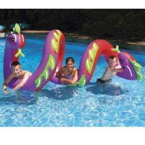New Fun Inflatable Water Pool Lake Toy Float Children Swimming Floating Serpent