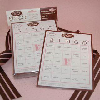 Bridal Shower Bingo Games Shower Game for 50 Guests